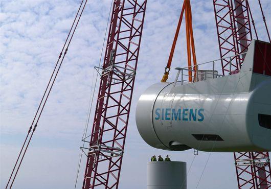 Aerogeneradores offshore Siemens