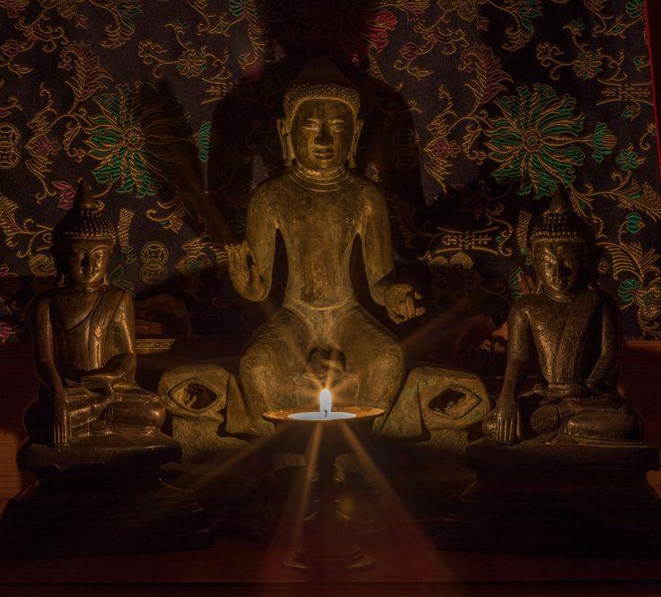 Burmese Buddha statues