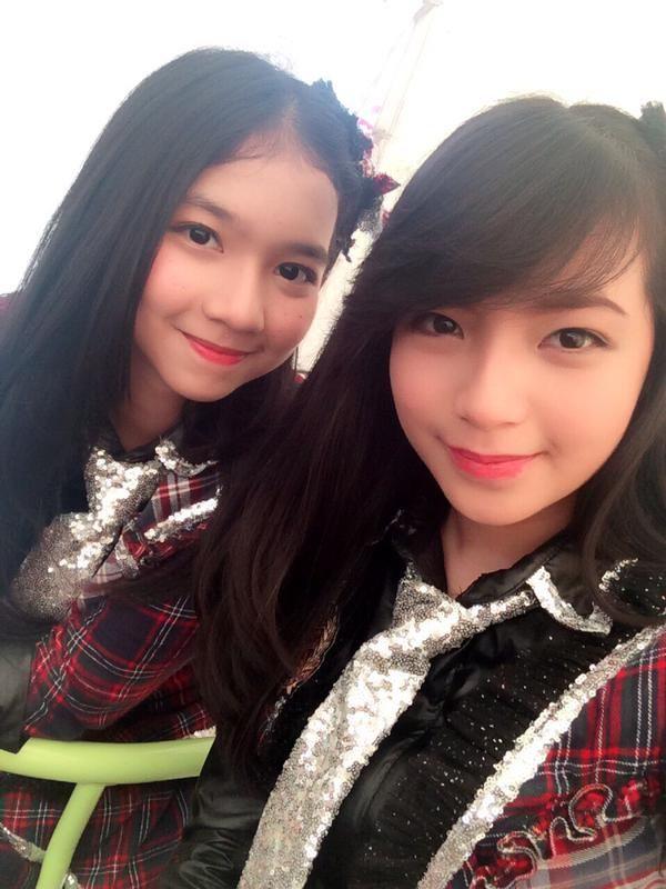 Nina Hamidah & Shania Gracia JKT48