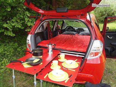 Мини-кемпер для автомобиля из Швейцарии