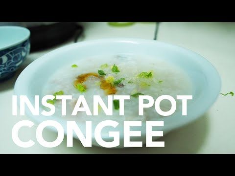 Instant Pot Pressure Cooker Easy Congee - YouTube