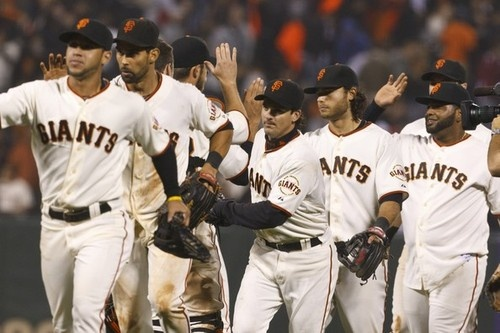 Go to a SF Giants ♥ game! (Check!)