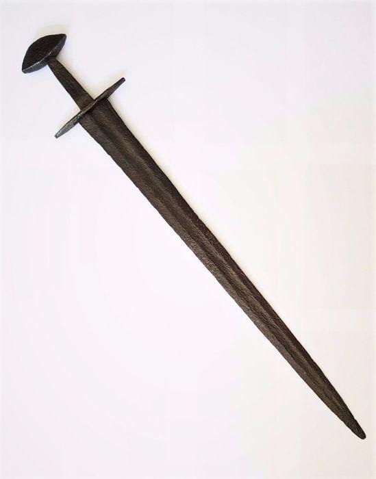 "900 Ulfberth Viking sword with inscription ""Veman""  a846cde382"