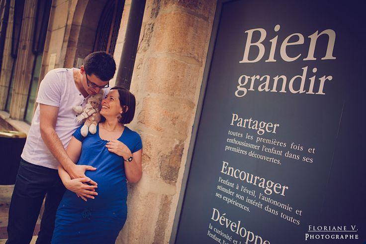 Murielle et Antoine – Séance Grossesse, couple – Dijon   Floriane V. PHOTOGRAPHIE { Photographe Mariages et Portraits Lifestyle Enfance Familles Couples - Dijon et France }