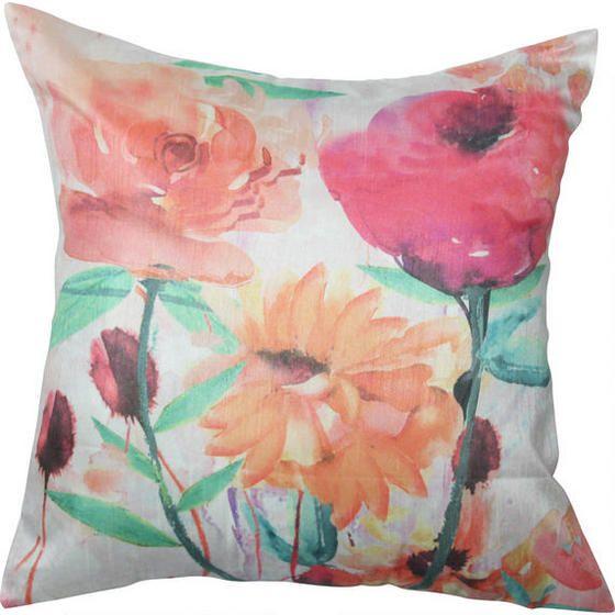 Delish Flowers Toss Cushion