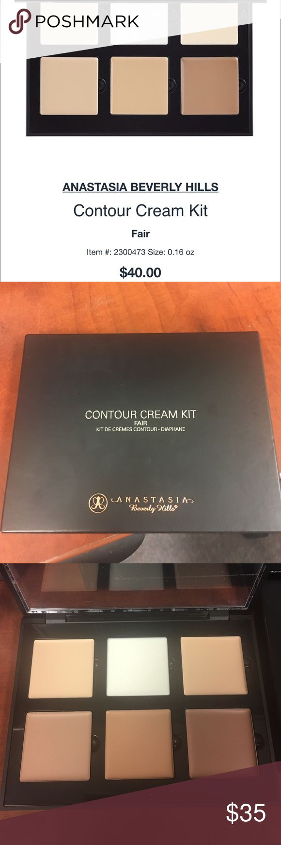 Anastasia cream contour kit New in box color: Fair Anastasia Beverly Hills Makeup