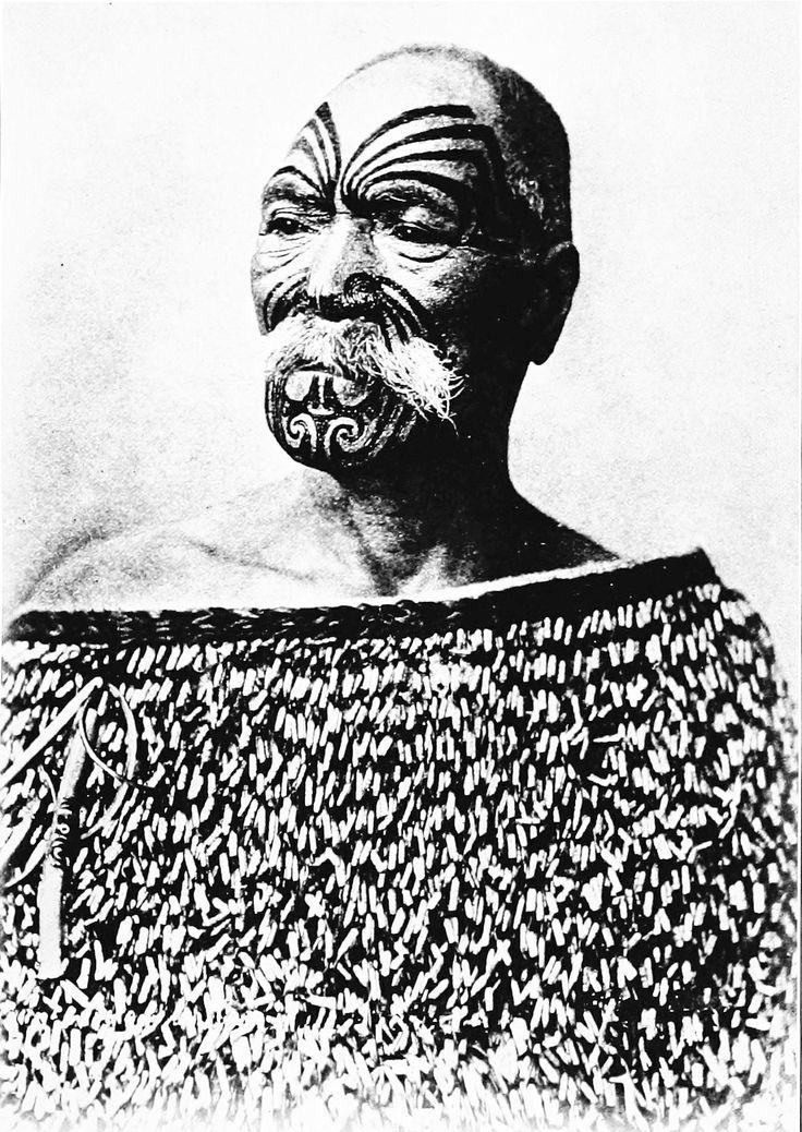 Authentic Maori Tattoo: Traditional Maori Tattoo (tatau)