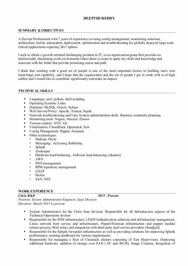 Dot Net Resume 7 Years Experience Beautiful Resume Deepthi Reddy Job Resume Samples Resume Job Resume