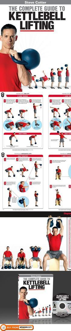 New Steve Cotter Book and DVD Combo - The Complete Guide to Kettlebell Lifting, Steve Cotter has done it again! The new Complete Guide to Kettlebell Lifting will do for Kettlebell books what his amazing Encyclopedia of Kettlebell Lifting did for Kettlebell DVDs. This book is pack..., #Sporting Goods, #Kettlebells, $79.99 #musclebuilding