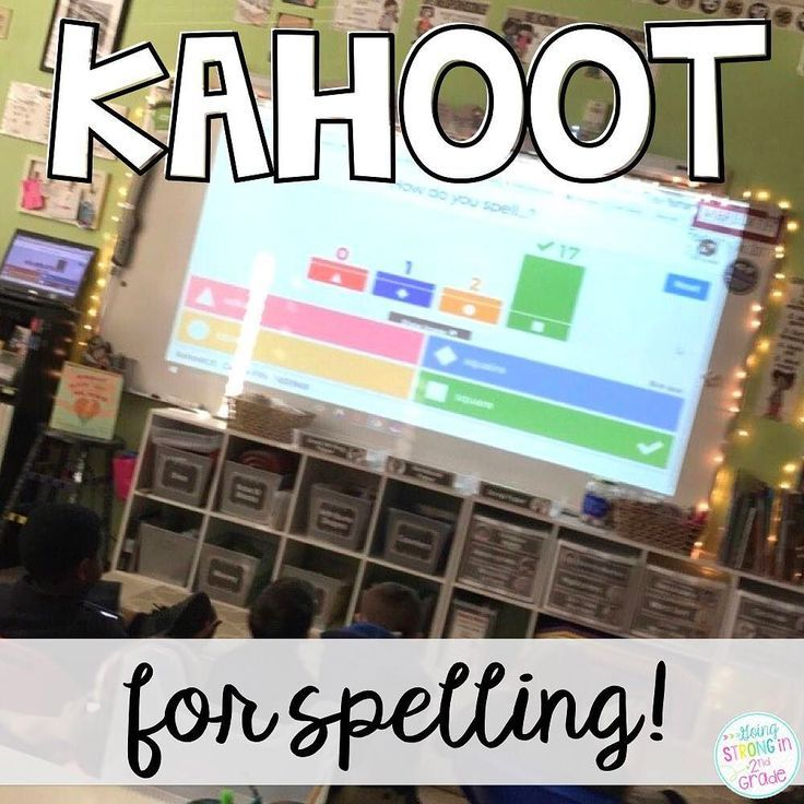 Do you use Kahoot? We use it as a weekly spelling review game. How you ask? Hop over to my blog and see how we use Kahoot! to review our weekly spelling words and patterns. #linkinprofile to blog post