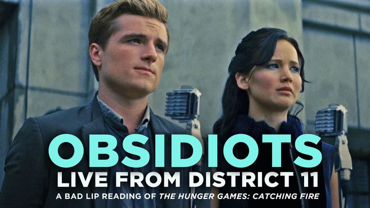 """""""OBSIDIOTS: Live From District 11"""" -- A Bad Lip Reading of Catching Fire"""