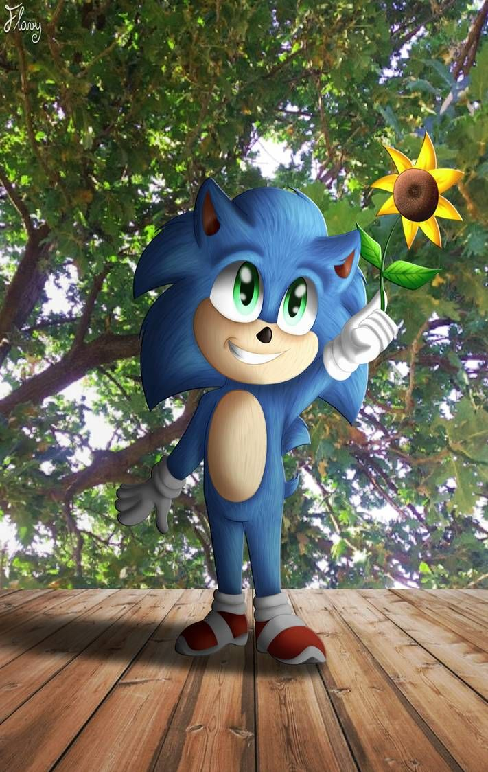 Baby Sonic By Thetigressflavy On Deviantart In 2020 Sonic Hedgehog Movie Sonic The Movie