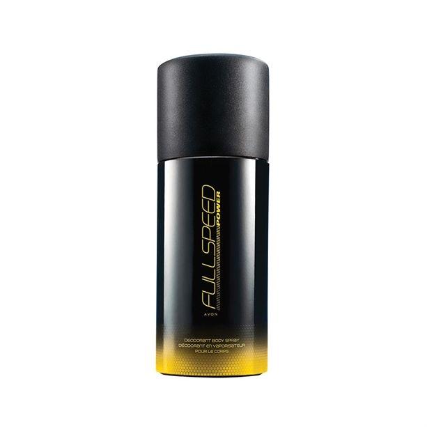 Kapcsolj teljes sebességre az AVON Full Speed Power kölnihez tartozó deo spray-vel! Izgalmas illat a férfinak, aki kedveli az extrém életstílust!<br /> ILLAT
