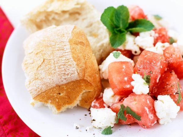 Watermeloen salade met feta - Libelle Lekker!