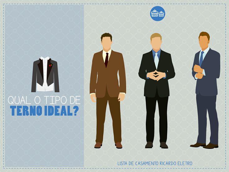 Qual o tipo de terno ideal? #noivo #casamento #terno