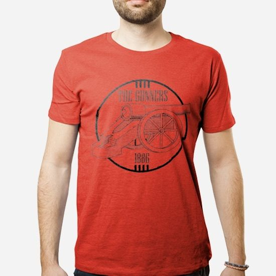 The Gunners 1886 Retro - RED,Arsenal, Fans, Sport