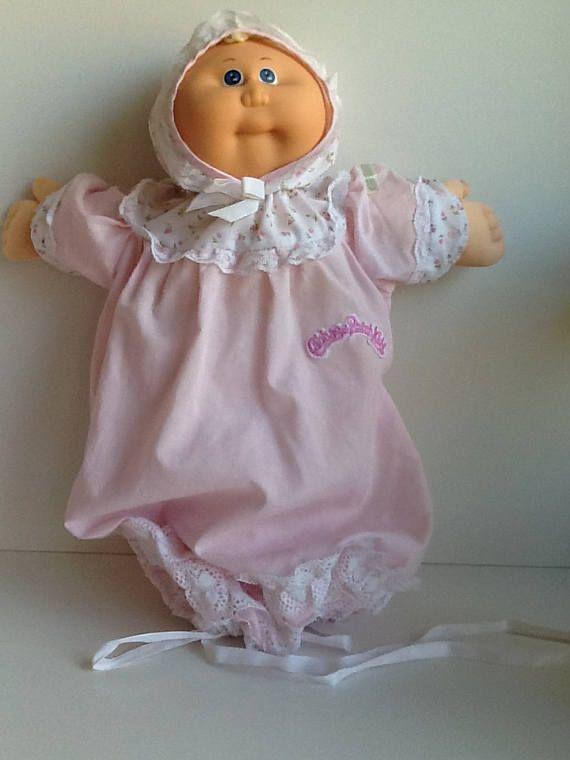 Parche de col 1985 niños prematuro bebé niña muñeca HM 1