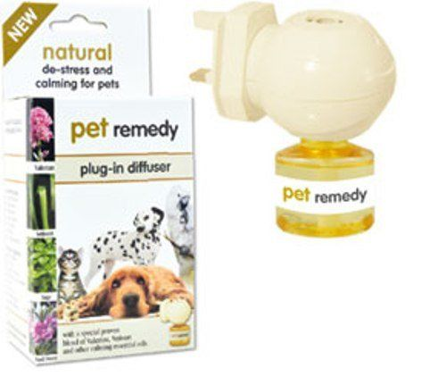 Pet naturalny środek odstresowanie i uspokajające Plug-In rozpraszające, 40 ml: Amazon.co.uk: Akcesoria dla zwierząt