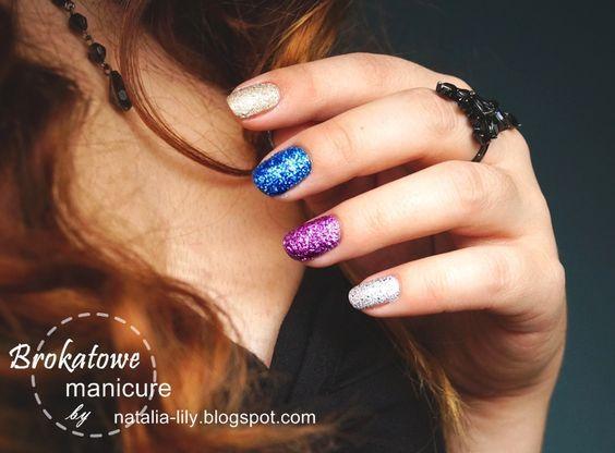 natalia-lily: Beauty Blog: *Sylwestrowe/brokatowe paznokcie* DIY: Jak zrobić samemu brokatowy piaskowy lakier krok po kroku?: