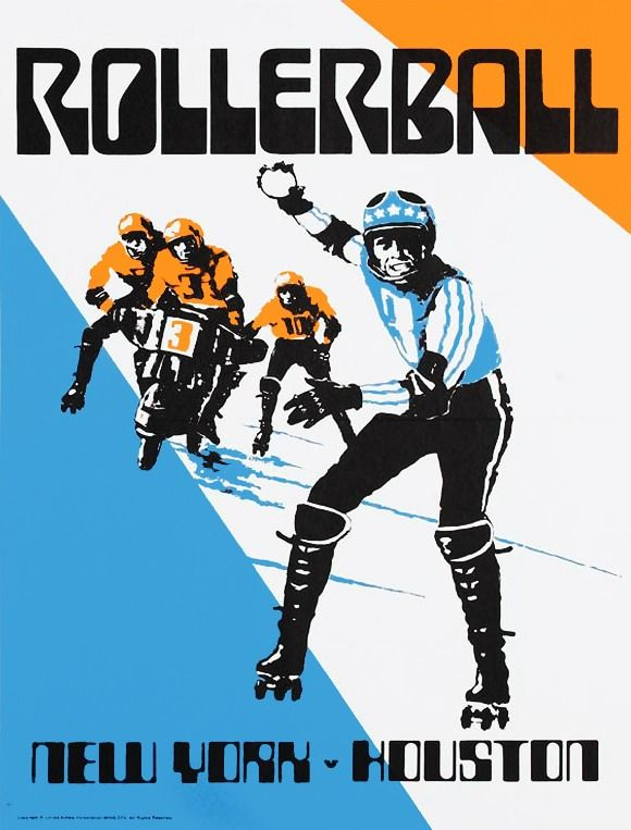 Rollerball artwork by Bob Peak