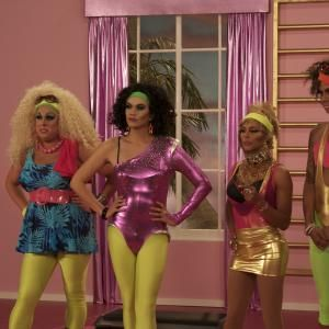 Still of Sutan Amrull, D.J. Pierce, Braden Chapman and Karl Westerberg in RuPaul's Drag Race (2009)