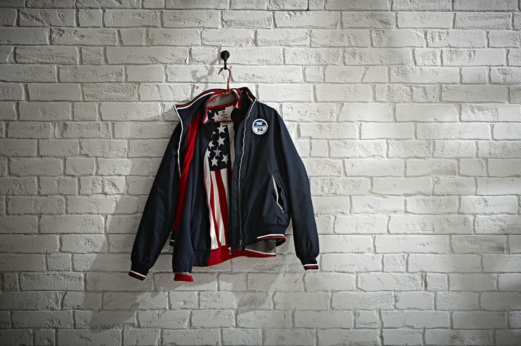 #NorthSails #Lookbook #collection #fall #winter #2013 #2014 #Jacket #tshirt #usa #flag #Cesare #Medri