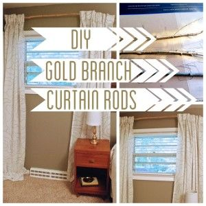 Best Branch Curtain Rods Ideas On Pinterest Natural Curtain