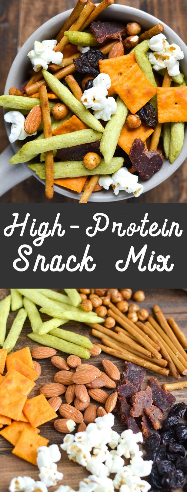 High-Protein Snack Mix via @mymoderncookery