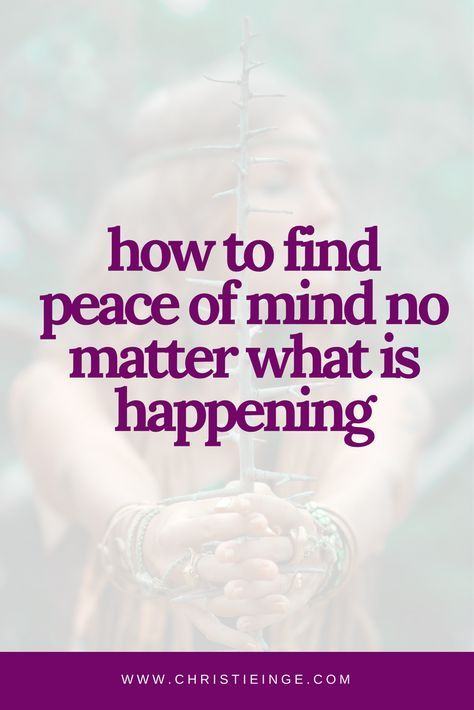 Best 25 emotional resilience ideas on pinterest psychology how to find peace of mind no matter what is happening fandeluxe Ebook collections