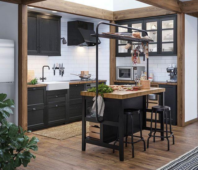 IKEA Küche: die schönsten Modelle des schwedischen Riesen ...