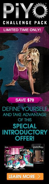 PiYo Challenge Pack: Get in shape by taking advantage of this special offer!...