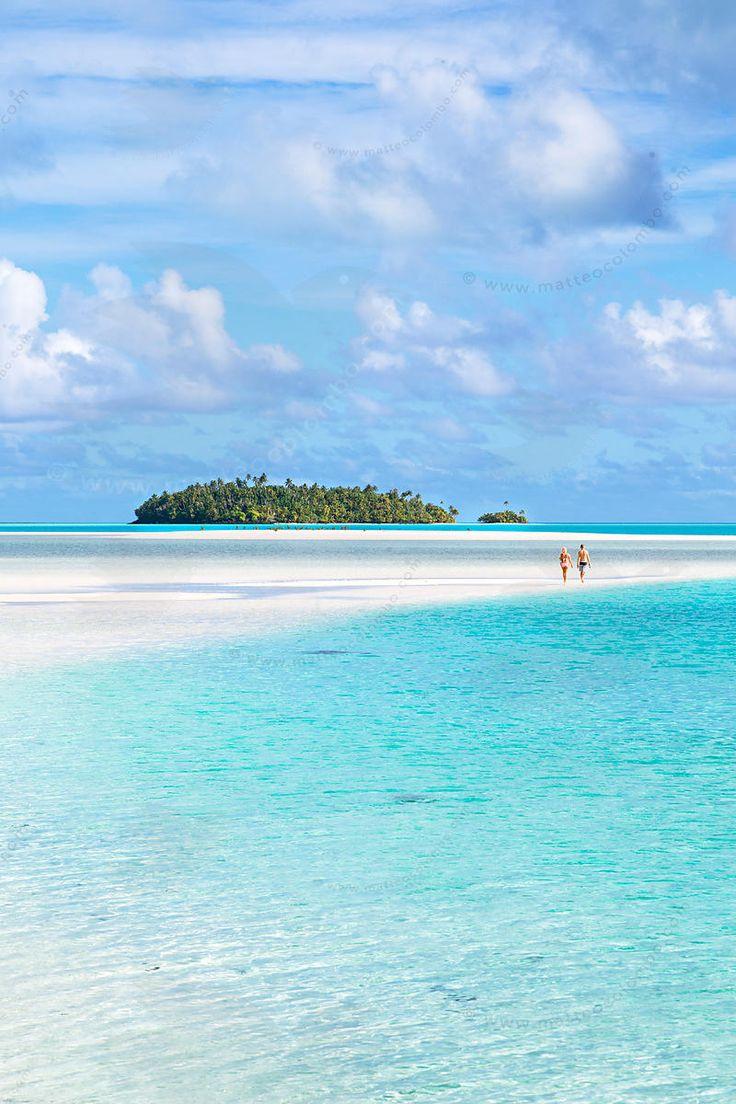 Aitutaki lagoon, Cook Islands
