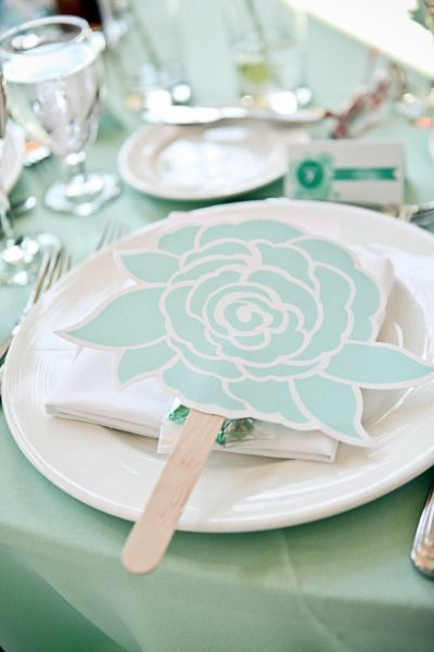 Mint Menus by Nimbus Factory. Photography by first comes love photo. Event Planning + Design by vivala diva events