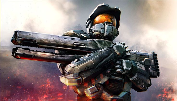 Video Game - Halo  Video Game Art Master Chief Wallpaper