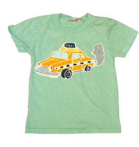 Hiho Batik Taxi Tee.:  T-Shirt, Taxi Tees, Jersey,  Tees Shirts, Handmade Clothing, Baby Clothing, Accessories, Hiho Batik, Batik Taxi