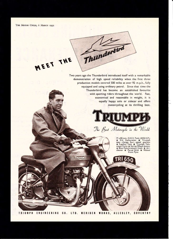 137 best classic motorcycle magazine adverts images on pinterest