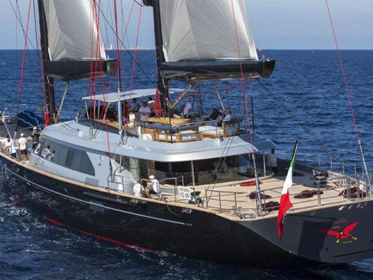 """Parte de una nueva generación de yates de vela: """"Seahawk"""""""