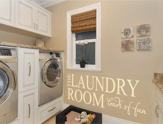 The Laundry Room Laundry Room Decal Laundry Stickers Laundry Room Sticker Laundry Wall Quote Laundry Wall Sticker Laundry Room Quote Laundry Wall Art Laundry Room Decals Wall Stickers
