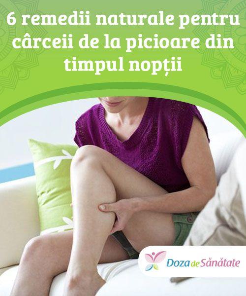 6 remedii naturale pentru cârceii de la picioare din timpul nopții  Cârceii de la picioare din timpul nopții sunt cauzați, în general, de pierderea de lichide din corp și de un nivel scăzut de săruri minerale. Aceștia pot fi preveniți dacă apelezi la anumite remedii naturale.