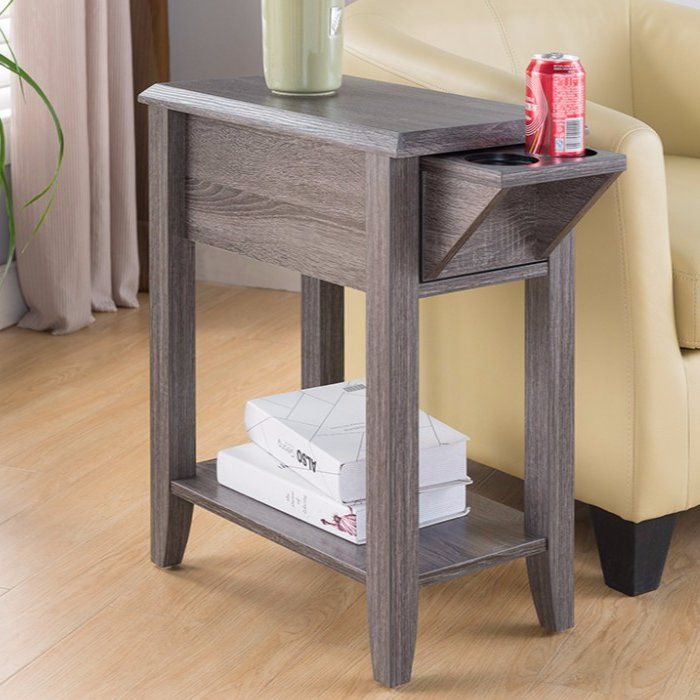 Albertyne End Table With Storage End Tables With Storage End Tables Living Room Side Table