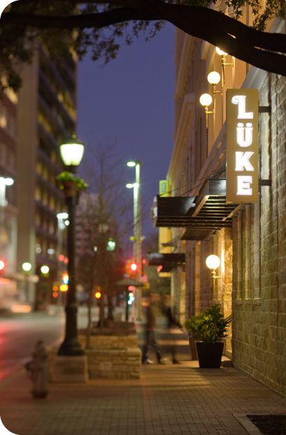 Lüke Restaurant - San Antonio, Texas