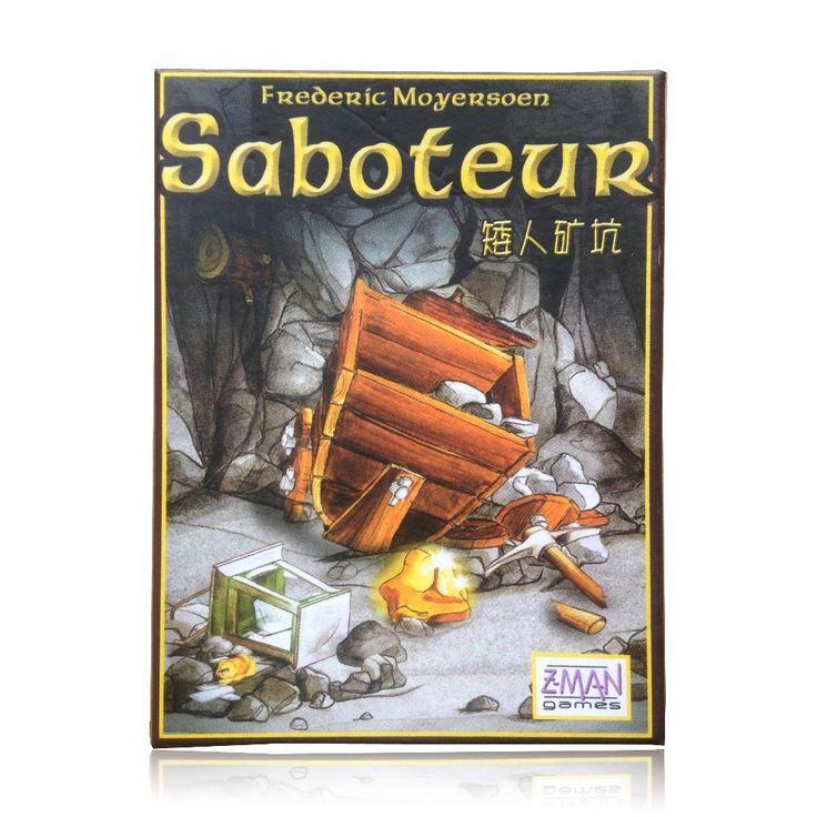 Hot sale beberapa bahasa aturan penyabot 1/saboteur 2 ekspansi/VIP pack/pack sederhana, kartu permainan meja permainan, papan permainan