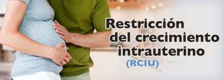 Bebé de bajo peso al nacer  Restricción del crecimiento intrauterino (RCIU)  Low birth weight infant Intrauterine weight restriction (IUGR)