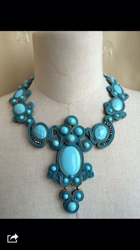 Turquoise necklace by LO