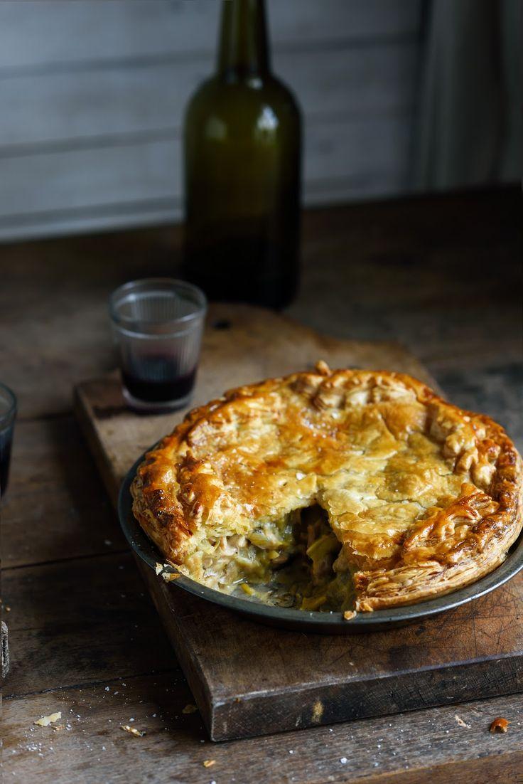 From The Kitchen: Chicken, leek & mushroom pie & mini spiced lamb & eggplant pies