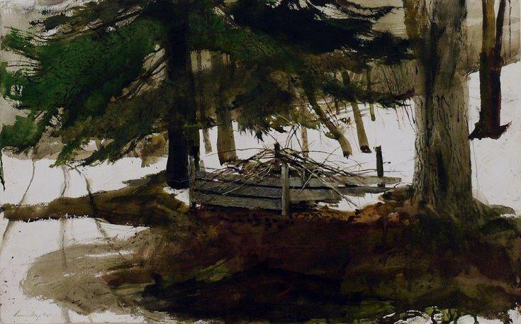 Andrew Wyeth, 'Pickup Sticks', 1994