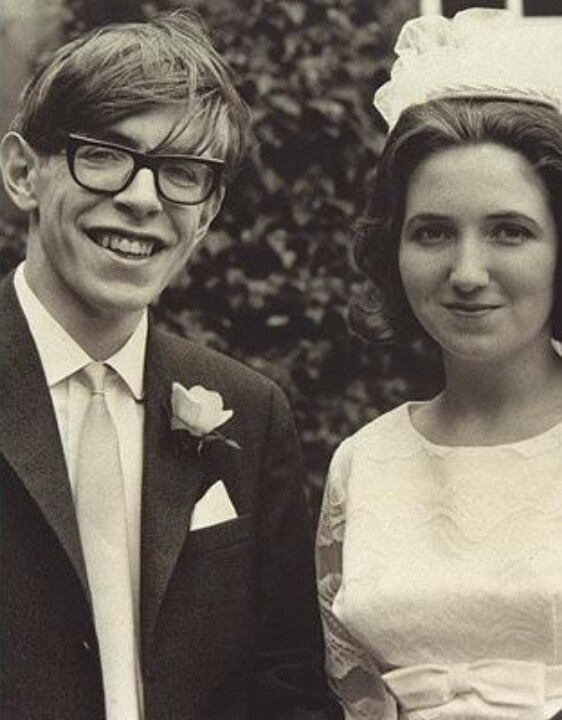 Stephen Hawking and (most importantly) Jane Wilde