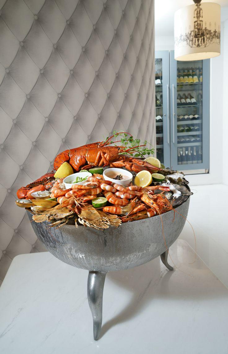 Seafood.  Orbit restaurant, Luna2 studiotel, Bali. #Lunafood #food #design #seafood #cosmic #restaurant #chef