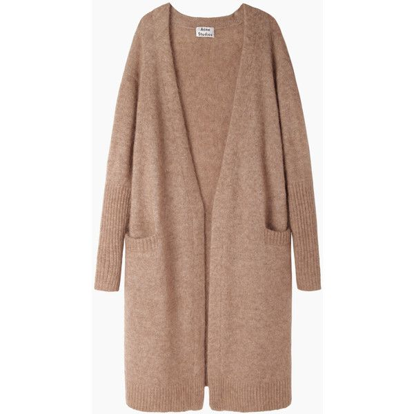 Acne Studios Raya Open Cardigan found on Polyvore