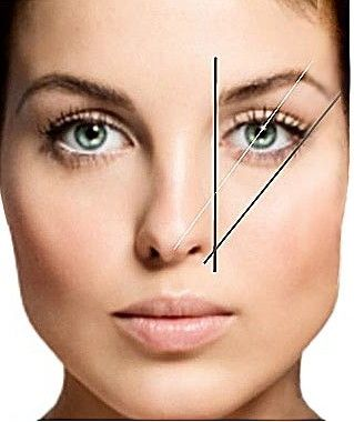 Please pass this on. So few people shape their eyebrow correctly and I'm on a crusade to stop people plucking out all their eyebrows and tatooing them on. HORRIBLE!